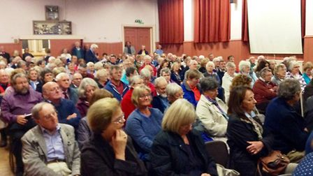 More than 200 residents attended the meeting last Tuesday