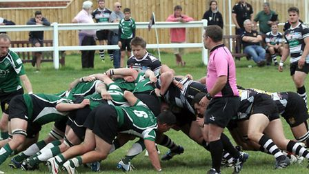 Sidmouth Chiefs played Torquary Athletic. Ref shsp 5571-40-14AW. Picture Alex Walton