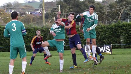 Sidbury played host to local rivals Seaton. Ref shsp 8804-48-14TI Picture: Terry Ife