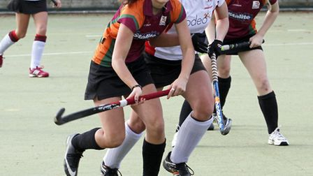 Sidmouth and Ottery Ladies 1st team match against Firebrands. Ref shsp 8718-48-14TI Picture: Terry I