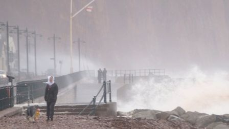 Sidmouth Seafront, November 13, 2014. Picture by Eve Matthews.