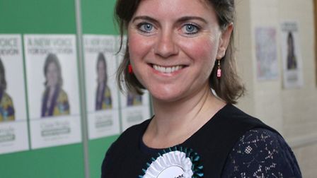 The official launch for Claire Wright's campaign to become elected as an East Devon Independent MP t