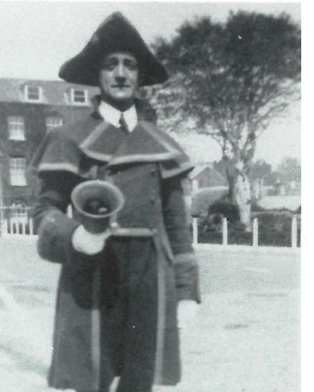 Charles Mortimore, Sidmouth's last town crier
