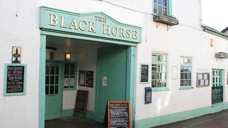 The Black Horse. Picture by Alex Walton. Ref shf 5453-07-14AW