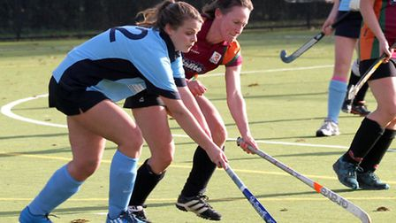 Sidmouth and Ottery Ladies 2nds took on Isca 5ths at the weekend. Ref shsp 1596-49-14AW. Picture: Al