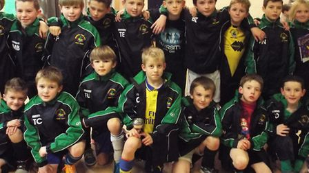 Sidmouth Vikings Under-9s enjoy their Christmas party