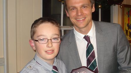 Sidmouth Cricket Jordan Fowler Junior Colt of the Year