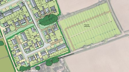 Redrow plans for Ottery St Mary allotment site