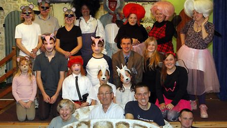Branscombe panto '3 Is The Magic Number'. Ref shb 1202-04-15TI. Picture: Terry Ife