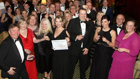 Sidmouth Business Awards. Ref shs 5283-03-15AW. Picture: Alex Walton