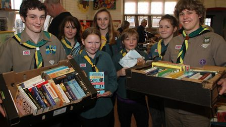 2014's Ottery Scouts annual jumble sale