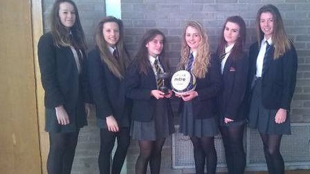 Sidmouth College Under-16 netball team