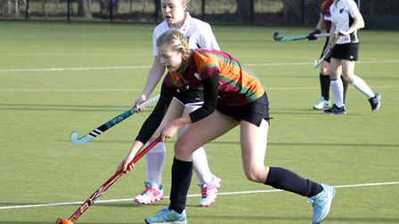 Sidmouth & Ottery ladies 4th at home to Dart 3. Ref shsp 1557-05-15TI. Picture: Terry Ife