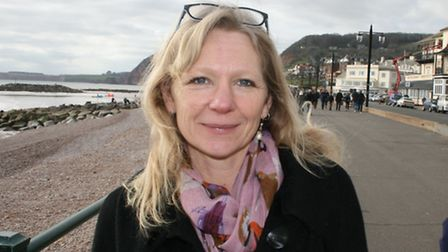 Town council candidate Louise Cole