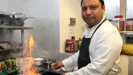 Shams Uddin from the Star of India on Mill Street. Ref sho 8286-09-15SH. Picture: Simon Horn