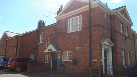 Sidmouth Police Station in Woolcombe Lane