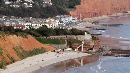 Sidmouth view from Peak Hill. Picture: Alex Walton. Ref sidmouth view