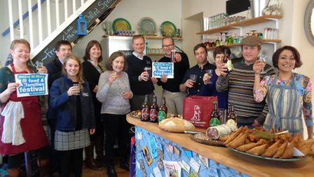 Launch of Ottery Food and Families Festival
