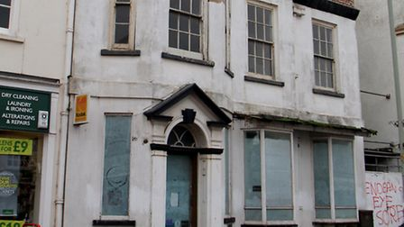 The former SES stationery shop of Sidmouth. Ref shs 7143-42-14AW. Picture: Alex Walton