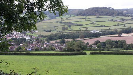 Sidford Valley. Photo by Terry Ife ref shs 2244-39-12TI