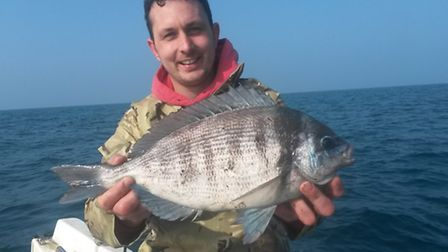 Nice to see was the first black bream of the season with Trevett landing a fish of 3lb 5oz.