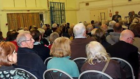 Campaigners for West Hill independence hosted public meeting