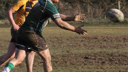 Sidmouth 3rds played Crediton at the Sidford ground on Saturday afternoon. Ref shsp 9261-11-15SH. Pi