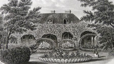 Knowle Cottage - Mr Fish's show home. Picture: Sidmouth Museum.