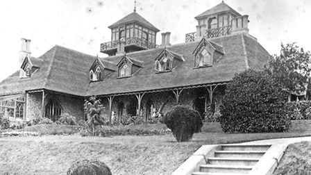 Knowle during the Thornton years. Picture: Sidmouth Museum.