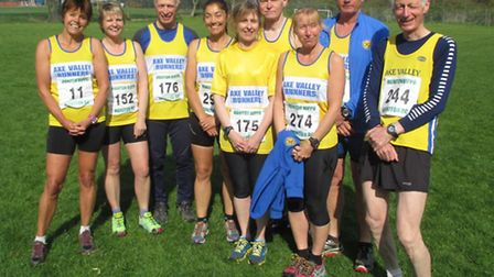 Axe Valley Runners at the Hippo