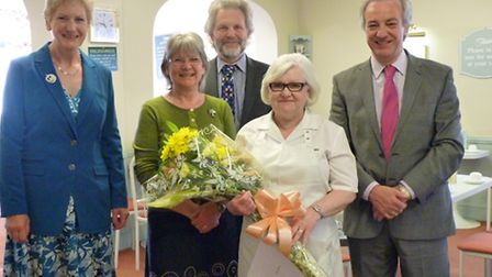 Barbara Hodge celebrated 20 years with Fields