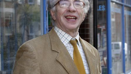 John Rayson who is standing for Sidmouth town council. Ref shs 5058-14-15TI. Picture: Terry Ife