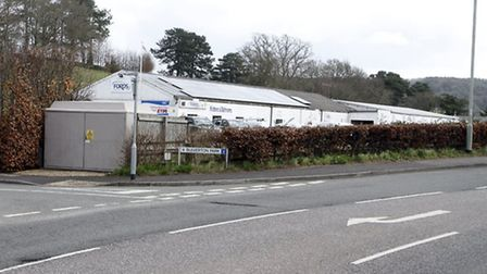 Alexandria industrial estate at the Bulverton Park junction. Ref shs 5089-14-15TI. Picture: Terry If