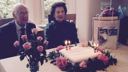 Michael and June Stubbs celebrate their 60th wedding anniversary.