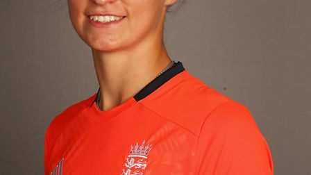 LOUGHBOROUGH, ENGLAND - JULY 10: Jodie Dibble of England poses for a portrait at the ECB National P