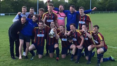 Sidbury United after their Morrison Bell Cup win