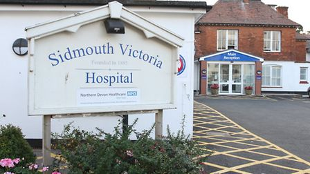 Sidmouth Victoria Hospital. Ref shs 7754-40-14SH Picture: Simon Horn