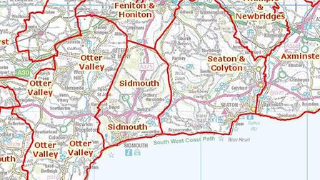 Boundary changes are proposed for Devon County Council