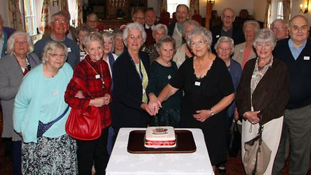 The King's School class of 1946 reunion. Ref sho 4317-18-15AW. Picture: Alex Walton
