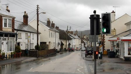 Church Street Sidford. Ref shs 1295-04-15TI. Picture: Terry Ife