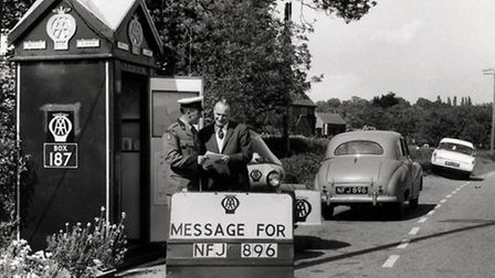 Box number 187, in Moor Lane, between Exeter and Honiton on the old A30. Picture: Automobile Associa