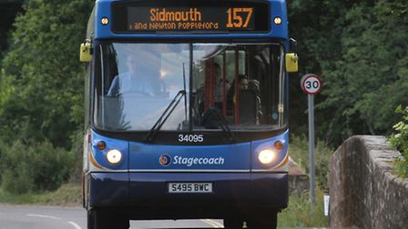 Bus service cuts have been opposed by Budleigh Salterton Town Council.