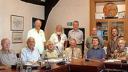 Founding members of the Vision Group for Sidmouth