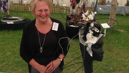 Donna Lane from Sidford won two prizes at the Devon County Show