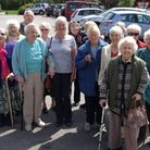 Members of the Sid Valley Carers' Support Group at The Bowd after a much enjoyed group lunch