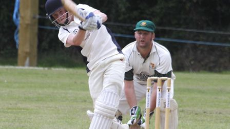 Ottery batsman Billy Ruldolph fell short of a hundred by just three runs against Uplyme on Saturday.