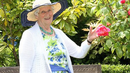 Veronica Wood will open her delightful garden at Orchard Close on July 18 and 19 to raise funds for