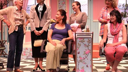 Steel Magnolias performed by SADS. Ref shs 0479-25-15SH. Picture: Simon Horn