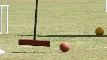 Players taking part in the Sidmouth June CA Tournament this week. Ref shsp 8947-23-15SH. Picture: Si