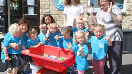 Branscombe Preschool achieved an 'outstanding' result from their latest Ofsted inspection. Ref shb 9